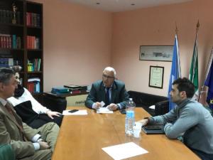 Incontro con l'Amministratore delegato di AIR sul traposto pubblico nel Sannio - 5 febbraio 2020