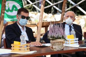 Il Presidente De Luca a Camposauro per l'iniziativa CIA