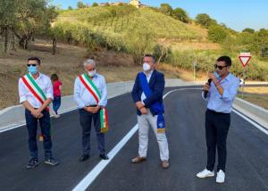 Inaugurazione dello svincolo per Castelpoto sulla Fondovalle Vitulanese - 11 settembre 2020