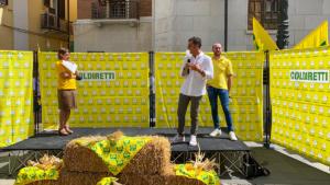 Flash mob di Coldiretti Benevento sull'emergenza cinghiali - 8 luglio 2021