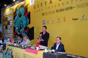 Conferenza stampa di presentazione del Trofeo Città di Telesia - 15 giugno 2019