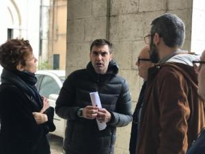 Incontro con l'Arcivescovo di Benevento e le parti sociali - 9 novembre 2019