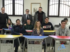 Incontro con gli studenti del corso IeFP di IRFOM a Roccabascerana - 27 gennaio 2020