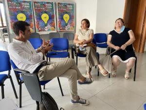 Incontro con le dipendenti dell'ex Consorzio di Bonifica della Valle Telesina - 7 agosto 2020