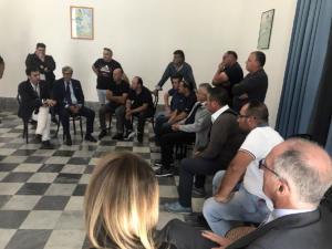 Incontro con le organizzazioni sindacali e i lavoratori della Samte - 24 settembre 2019