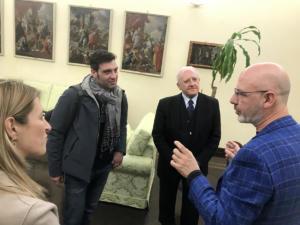 Incontro in Regione Campania con il maestro pizzaiolo Franco Pepe - 11 febbraio 2020