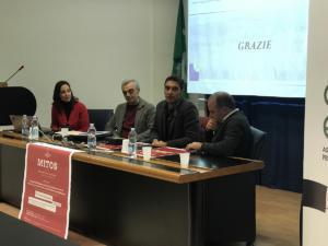 """Presentazione del progetto """"Mitos"""" alla Cia di Benevento - 12 novembre 2019"""