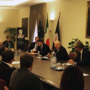 Incontro sulla sanità nel Sannio con il presidente De Luca in Sala Giunta a Palazzo Santa Lucia - 10 settembre 2018