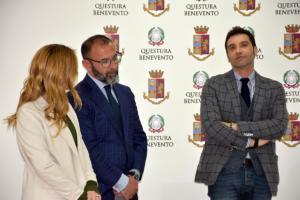 Visita istituzionale alla Questura di Benevento - 4 aprile 2019