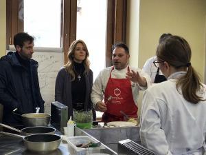 Visita al corso IFTS sull'enogastronomia attivato presso la Scuola del Gusto di Torrecuso - 22 marzo 2018