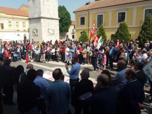 Corteo Anpi Benevento per la Festa della Liberazione - 25 aprile 2018