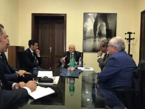 Incontro sulla sanità nel Sannio con il Governatore della Campania, Vincenzo De Luca - 26 aprile 2018