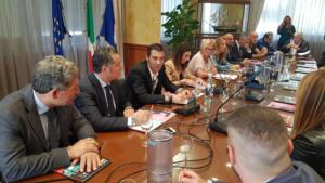 Conferenza stampa della Telesia Half Marathon e della Telesia Pink Race in Regione Campania - 26 settembre 2018