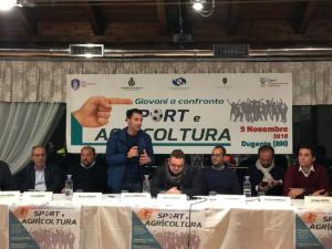 "A Dugenta convegno ""Sport e agricoltura"" - 9 novembre 2018"