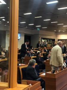 Presentazione mozione sullo Stir di Casalduni - 3 luglio 2018